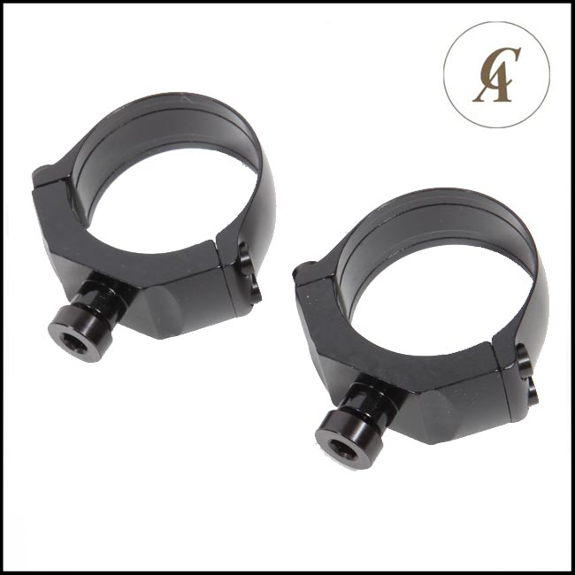 Contessa 25.4mm Rings for Simple Black - 2.5mm (Low)