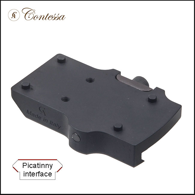 Contessa Lightweight Alloy Picatinny Mount for Red Dot Sights