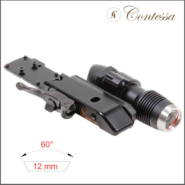 Contessa Ultra Low Quick Release Mount for Zeiss CP/Doctor +F1